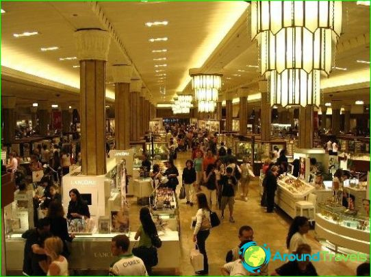 Winkels en winkelcentra in New York