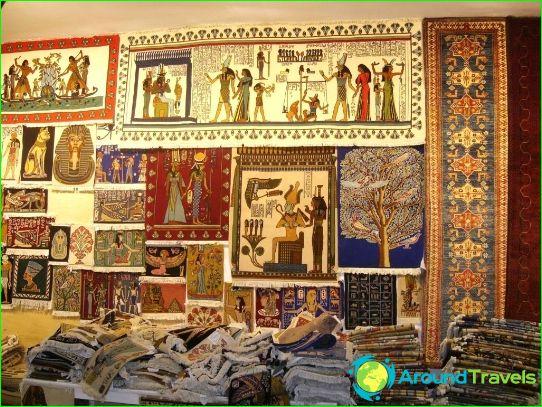 Shopping en Egypte