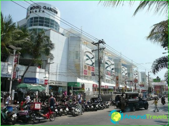 Winkelcentra en markten in Pattaya