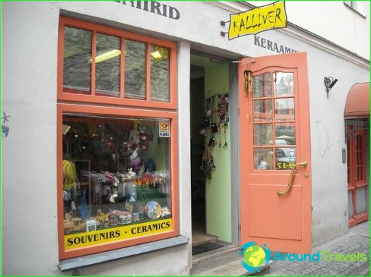 Магазини и търговски центрове в Талин