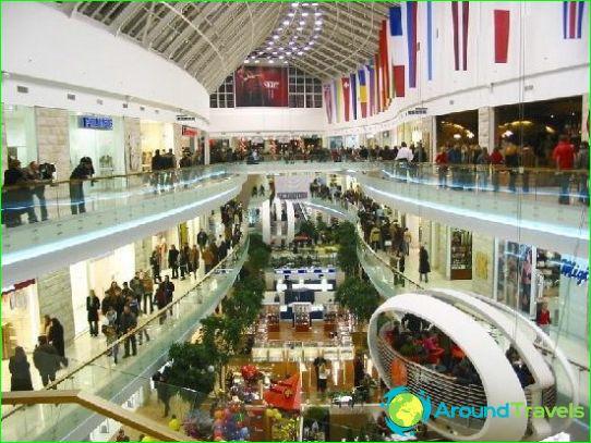 Магазини и търговски центрове на Вилнюс