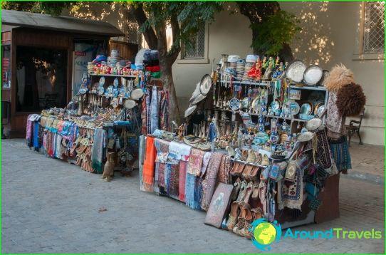Bazaars en winkelcentra van Baku