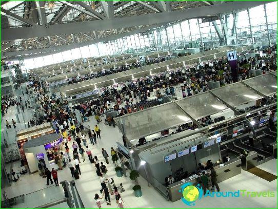 Bangkok luchthaven