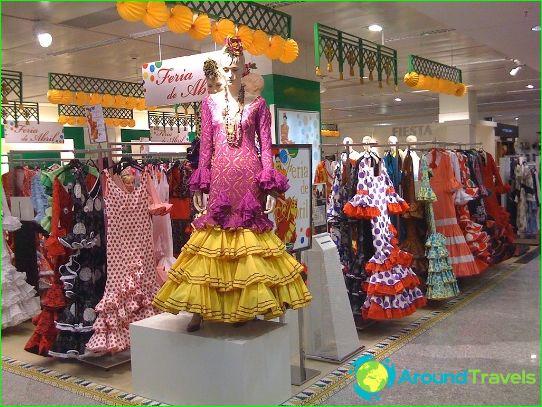 Butiker och köpcentra i Madrid