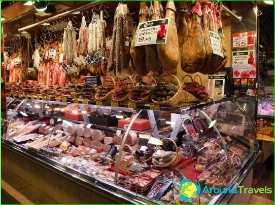 Winkels en winkelcentra in Barcelona