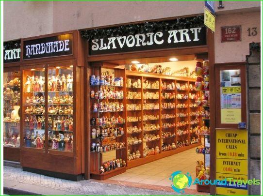 Пазаруване в Чехия