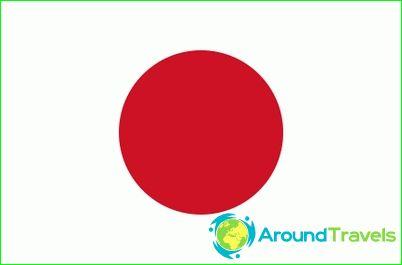 Знаме на Япония