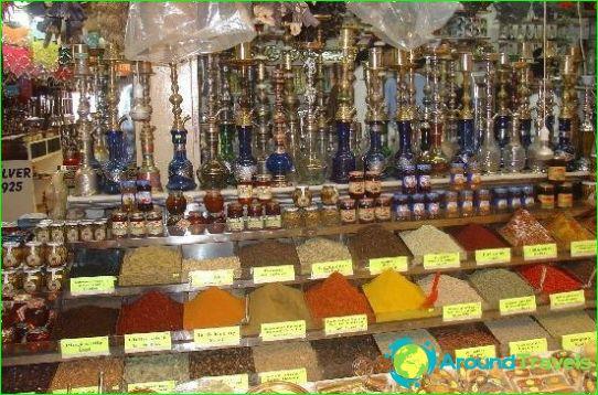 Winkels en markten van Antalya