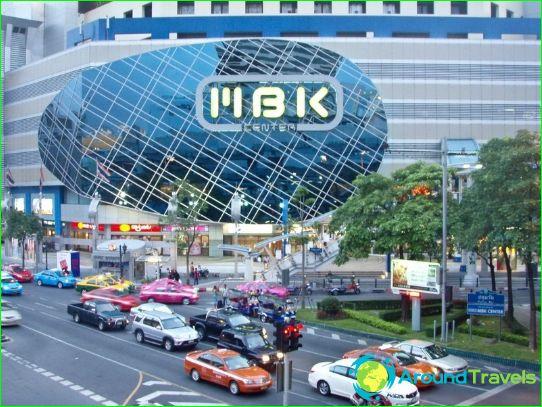 Boutiques et centres commerciaux de Bangkok