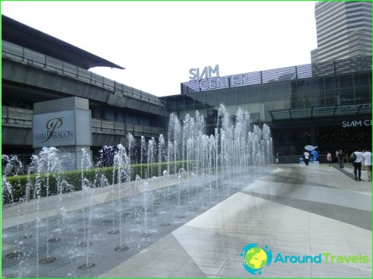 Bangkok-kaupat ja ostoskeskukset