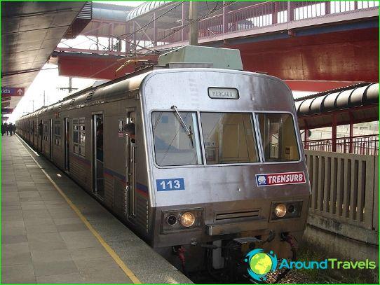 Metro Porto Alegre: kaart, beschrijving, foto
