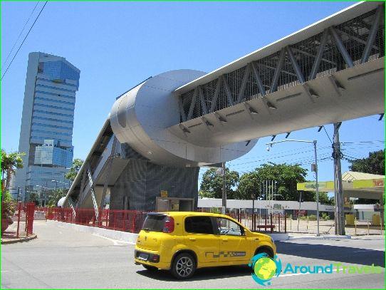 Metro Recife: kaart, beschrijving, foto