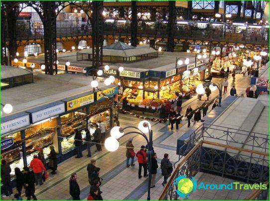 Budapestin kaupat ja markkinat