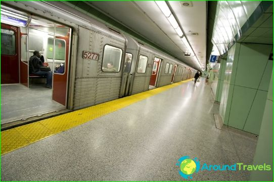 Метро Торонто: карта, описание, снимка