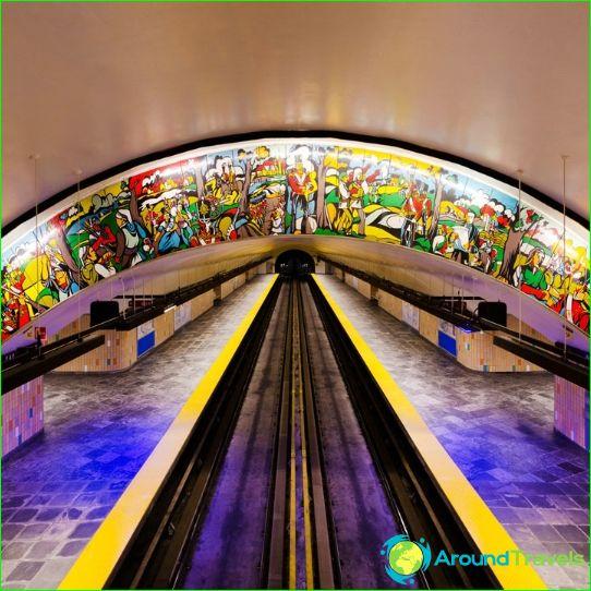 Metro Montreal: térkép, leírás, fénykép