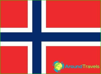 Знаме на Норвегия