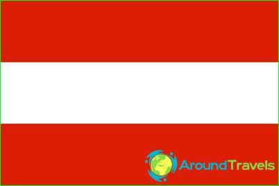 Vlag van Oostenrijk