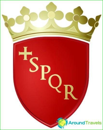 Герб на Рим