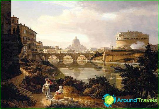 Рим през 1834г