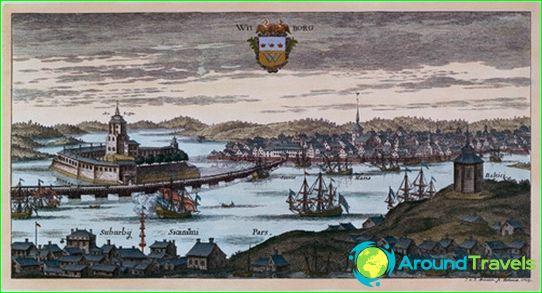 Vyborg in 1709