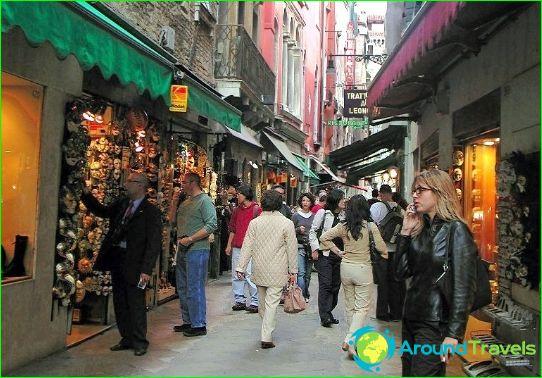 Winkels en winkelcentra van Venetië