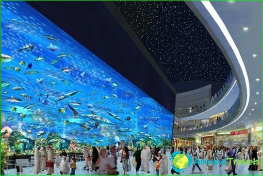 Dubai winkelcentra en markten