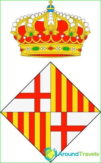 Vapensköld från Barcelona
