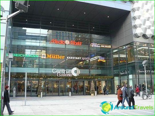 Winkels en winkelcentra van Dresden