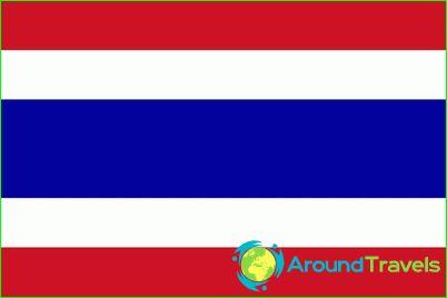 Drapeau, de, thaïlande