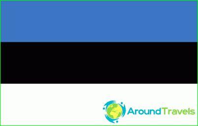 Észtország zászlaja