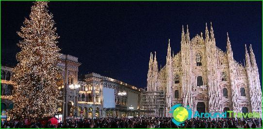 Nieuwjaar in Milaan