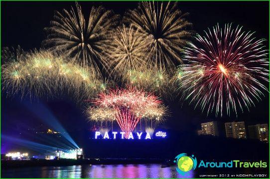 Uusi vuosi Pattayassa