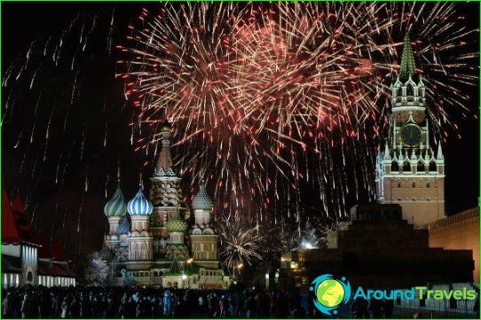 Nieuwjaar in Moskou