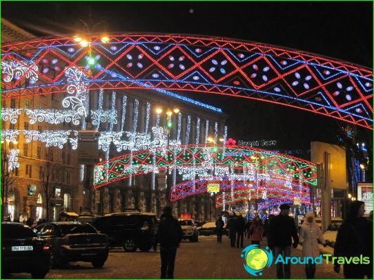 Uusi vuosi Kiovassa
