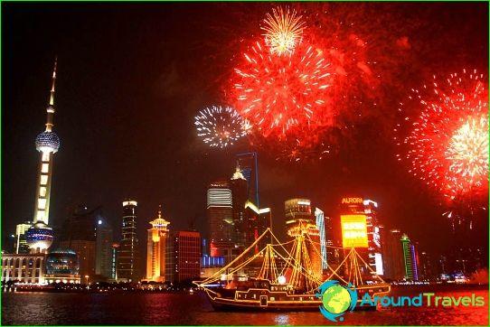 Uusi vuosi Shanghaissa