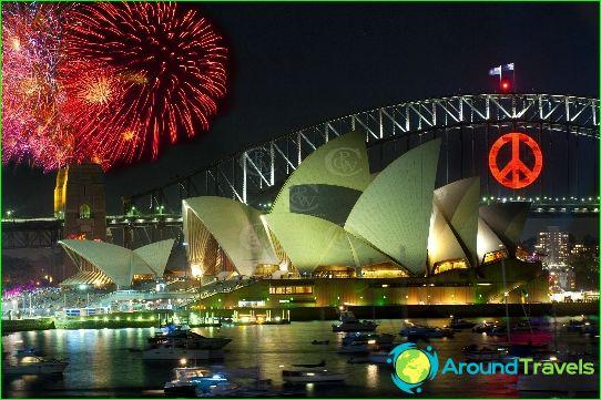 Uusi vuosi Sydneyssä