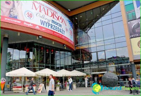Магазини и търговски центрове на Гданск