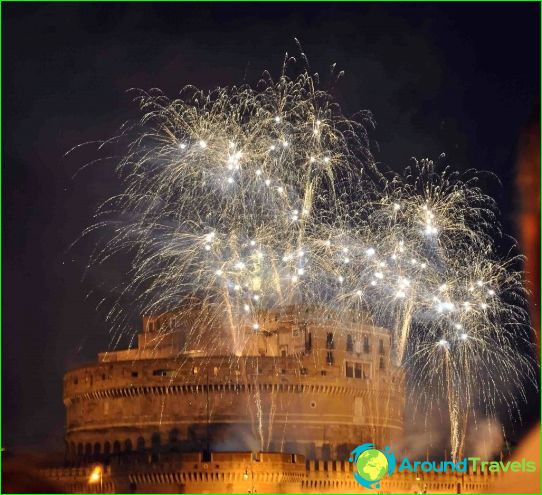 Nouvel an à Rome