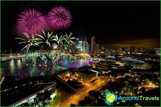 Нова година в Сингапур
