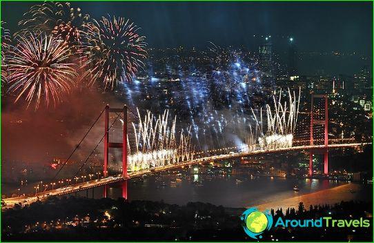 Nouvel an à Istanbul