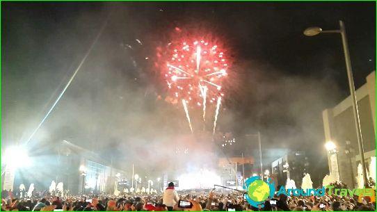 Nieuwjaar in Barcelona