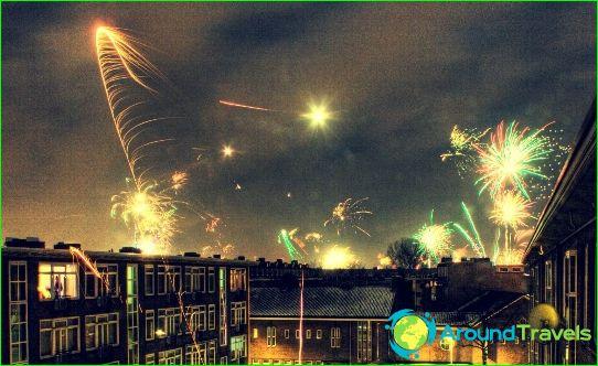 Нова година в Амстердам