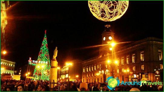 Uusi vuosi Madridissa