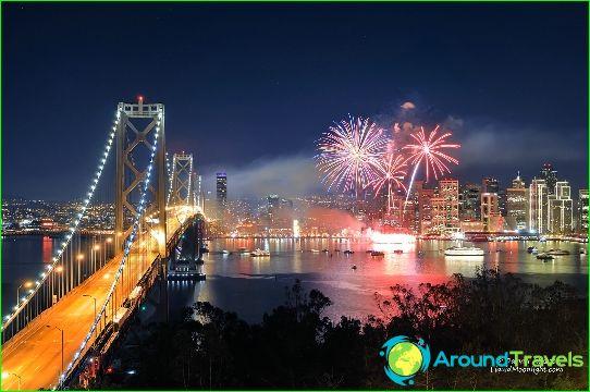 Nieuwjaar in San Francisco