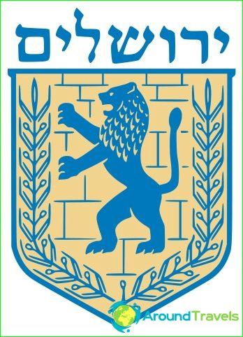 Jerusalemin vaakuna