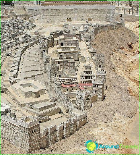 Malli toisesta Jerusalemin temppelistä