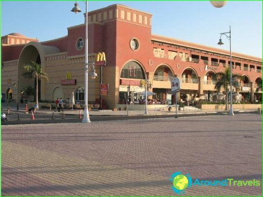 Hurghada winkels en markten