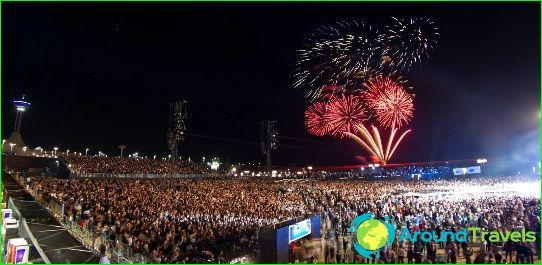 Nieuwjaar in Abu Dhabi