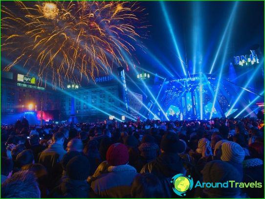Нова година във Варшава