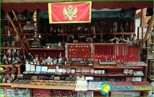 Winkelen in Montenegro